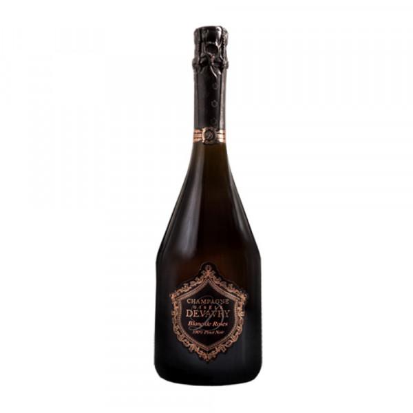 Champagner Gisele Devavry Blanc de Rose purs Noir