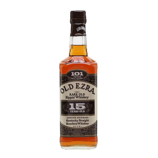Old Ezra Brooks Kentucky Straight Bourbon Whiskey 15 Years