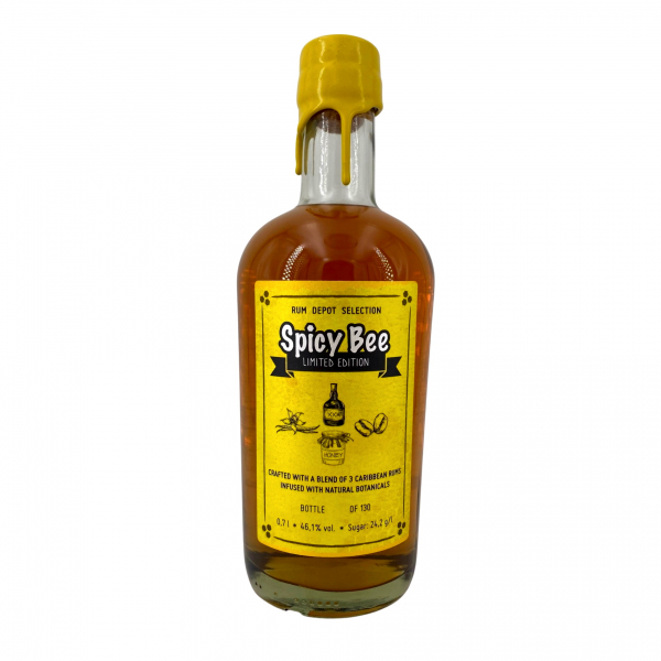 """Rum Depot Selection """"Spicy Bee"""""""