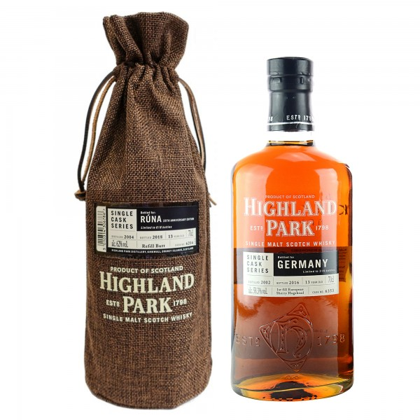Highland Park Single Cask Series RUNA 2004/2018 25th