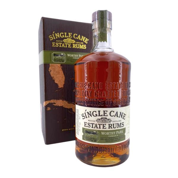 Single Cane Estate Rum Worthy Park Jamaica