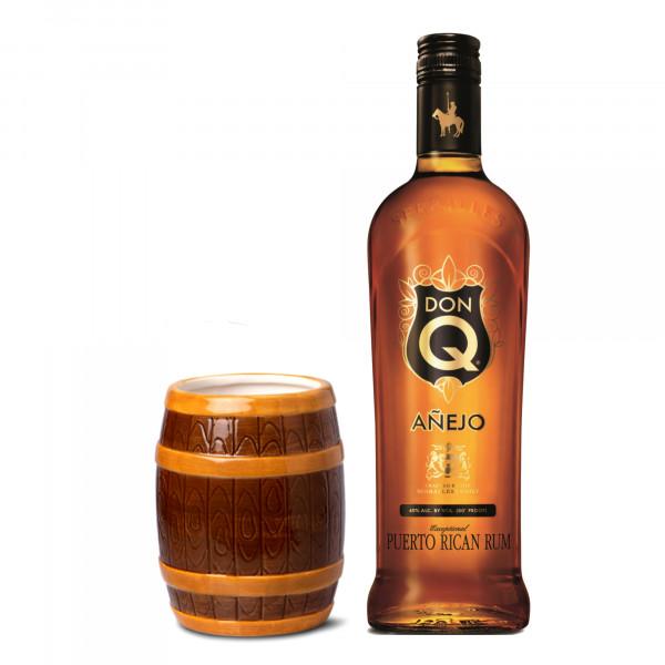 Tiki Mug Rum Cask + Don Q Anejo