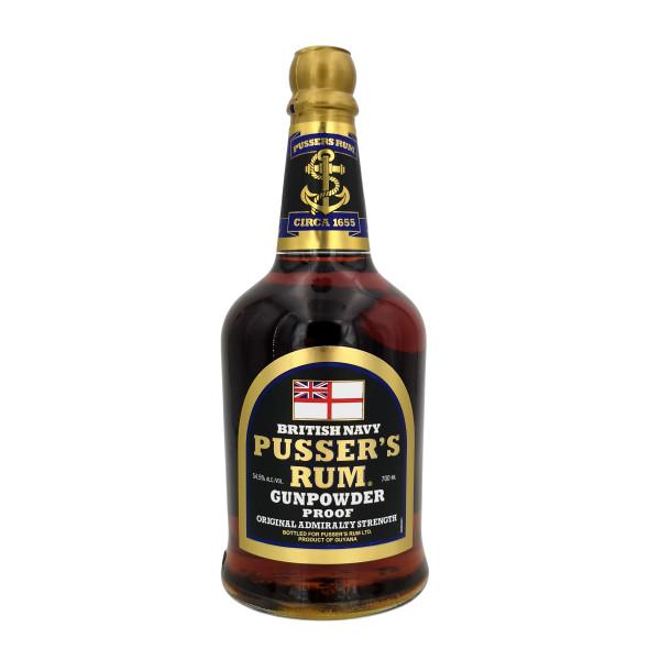 Pusser´s British Navy Rum Black Label Gunpowder Proof
