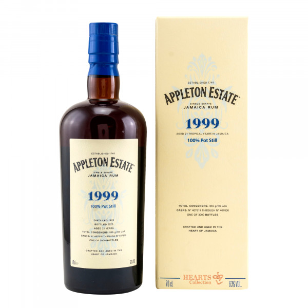 Appleton Rum 21 Years 1999/2020 - Hearts Collection