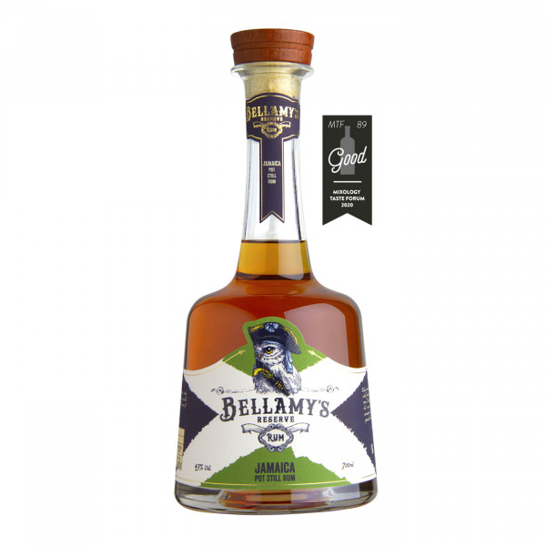 Bellamy Reserve Rum Jamaica Pot Still Long Pond & Clarendon Distilleries