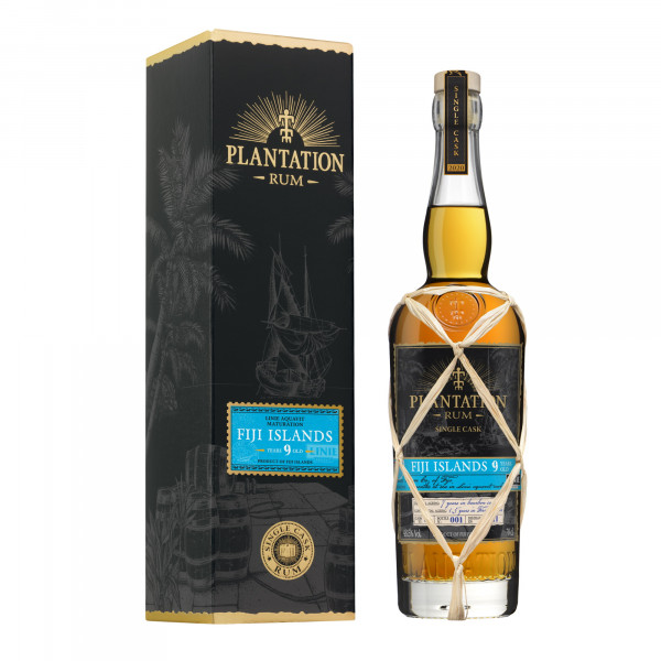 Plantation Rum Fiji 9 Years Single Cask Linie Around the World Cask Finish