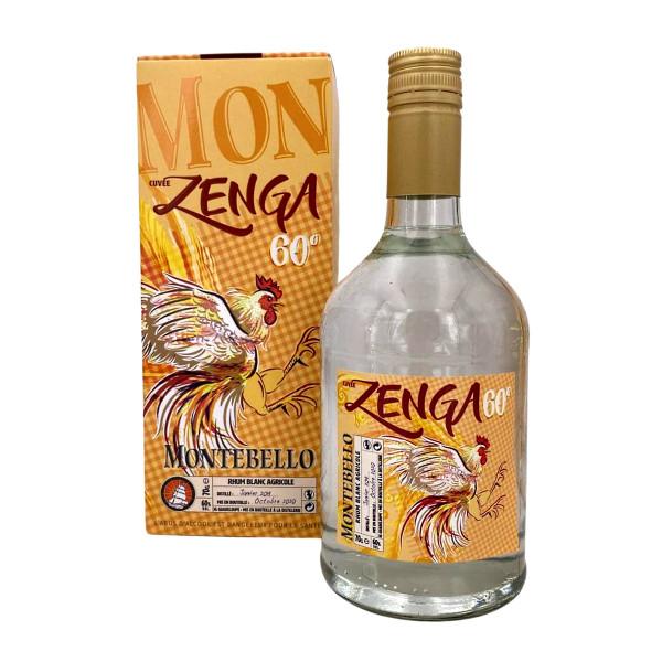 Montebello Rhum Agricole Blanc Cuvée Zenga