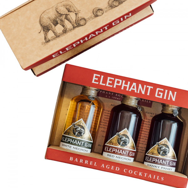 Elephant Gin Aged Cocktails