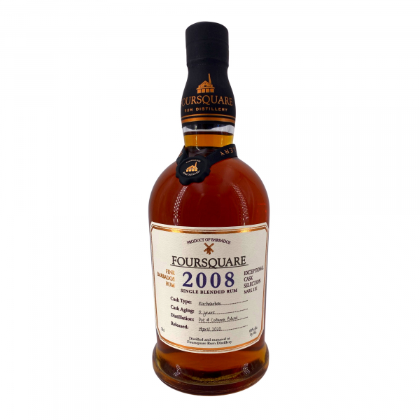 Foursquare 2008 Cask Strenght Exeptional Cask Selection MK XIII