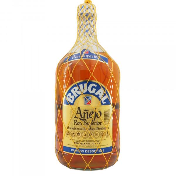 Brugal Anejo Ron Superior Half Gallon