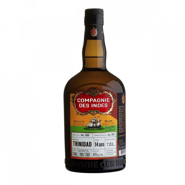 Compagnie des Indes T.D.L. Distillery 2006 Single Cask 14 Years