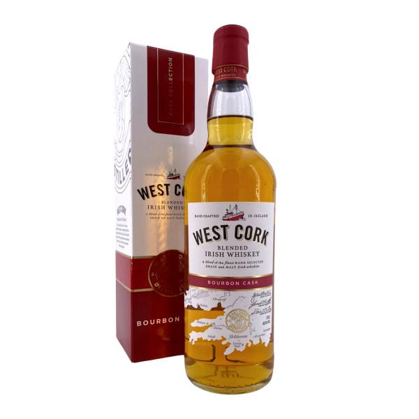 West Cork Blended Irish Whiskey Bourbon Cask
