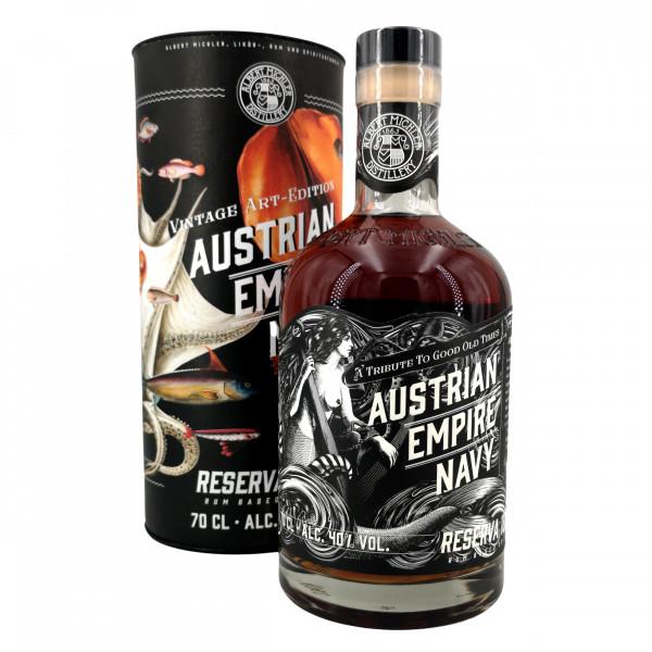 Austrian Empire Navy Rum Reserva 1863 Vintage Art Edition