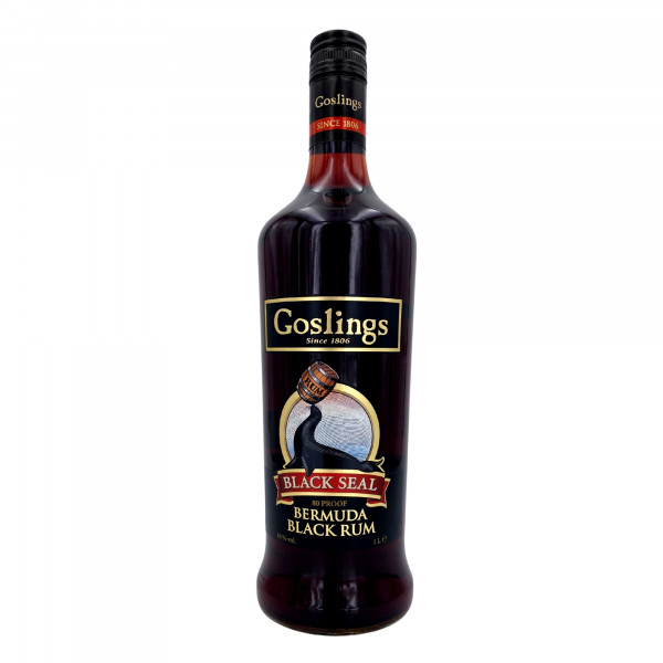 Goslings Black Seal Dark Bermuda Rum 1l