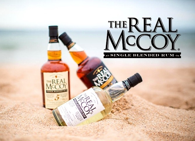 The Real McCoy - real Rum from Barbados!