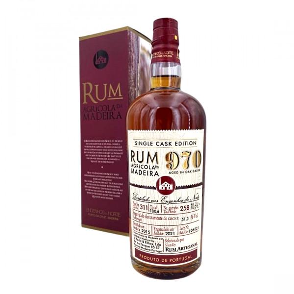 Rum Agricola da Madeira Single Cask Edition 970