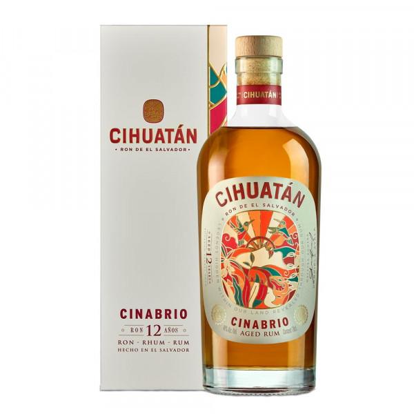 Cihuatan Cinabrio Rum El Salvador 12 Years old