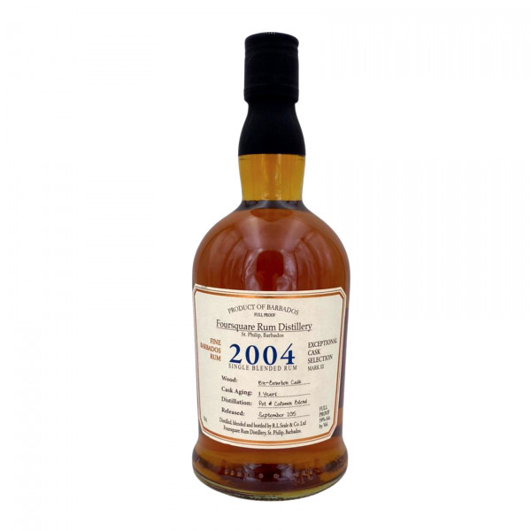 Foursquare 2004 Cask Strenght Exeptional Cask Selection MK III