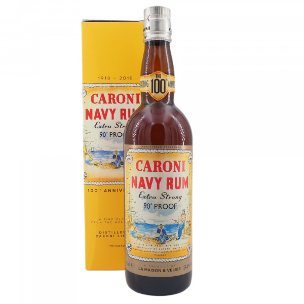 Caroni Navy Rum Extra Strong 90 Proof