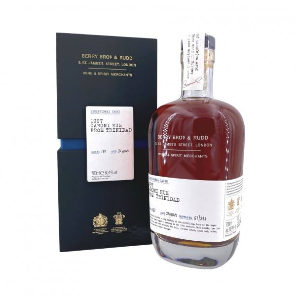 Berry Bros & Rudd 1997 Caroni Exceptional Cask