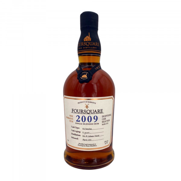 Foursquare 2009 Cask Strenght Exeptional Cask Selection MK XVII