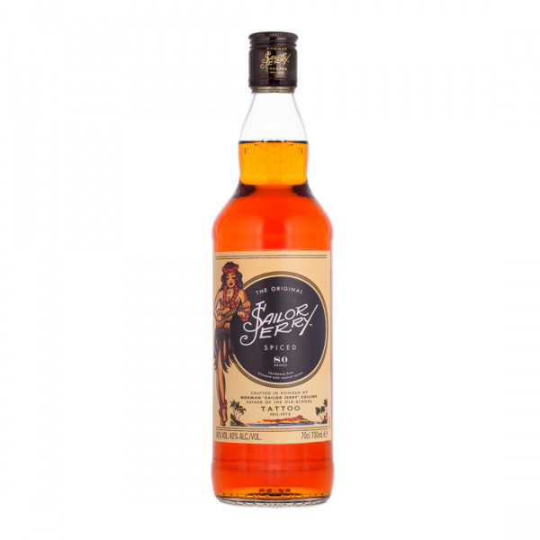 Sailor Jerry Spiced Bold Smooth Caribbean Rum