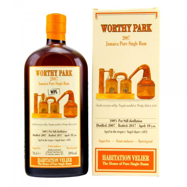 Velier - Worthy Park 2007 Jamaica Pure Single Rum WPL