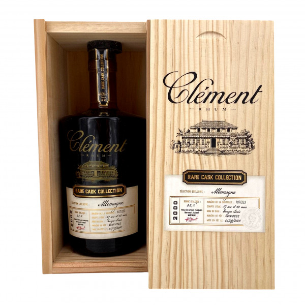 Clement Rare Cask Collection 2000