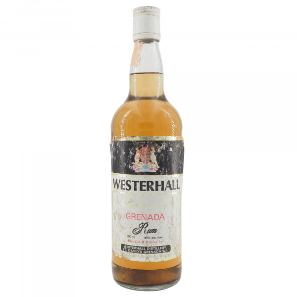Westerhall Superb Light Grenada Rum Gold (1960er)