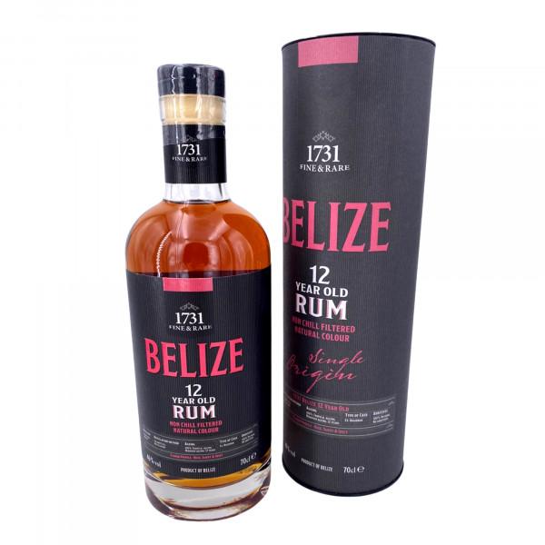 1731 Fine & Rare Belize 12 Years