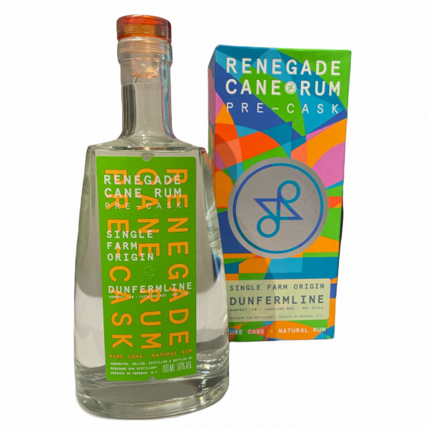 Renegade Rum - Dunfermline Pot Still Rum - 1st Release