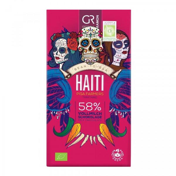 Georgia Ramon Haiti 58% BIO Milchschokolade