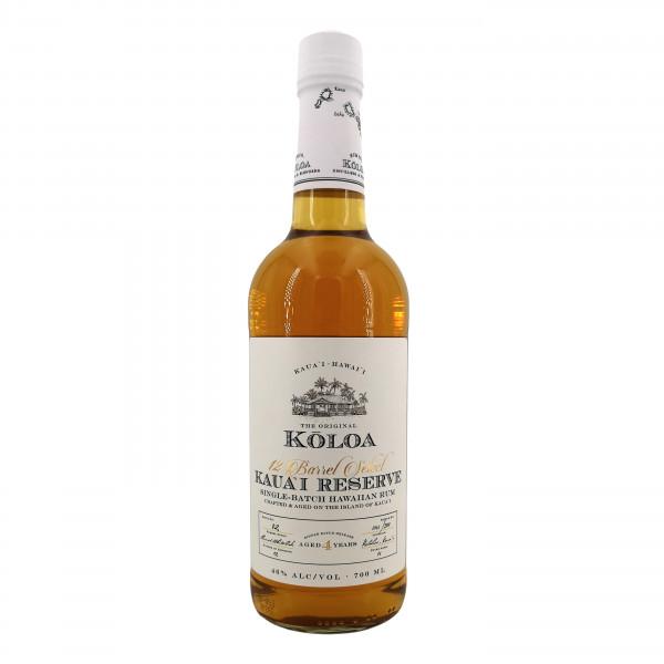 Kōloa 12 Barrel Select Kauai Reserve Single Batch Hawaiian Rum