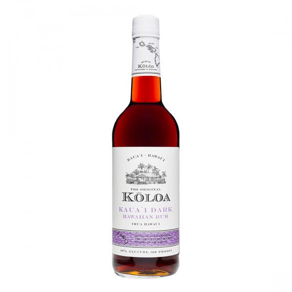 Kōloa Kauaʻi Dark Rum