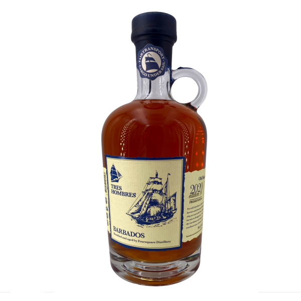 Tres Hombres - Ed. 039 Old Bajan Rum 8 Years