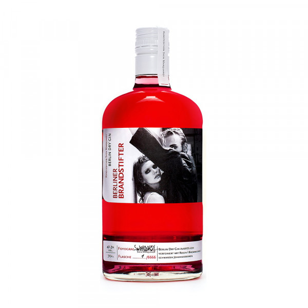Berliner Brandstifter Gin Kunstedition by Sven Marquardt