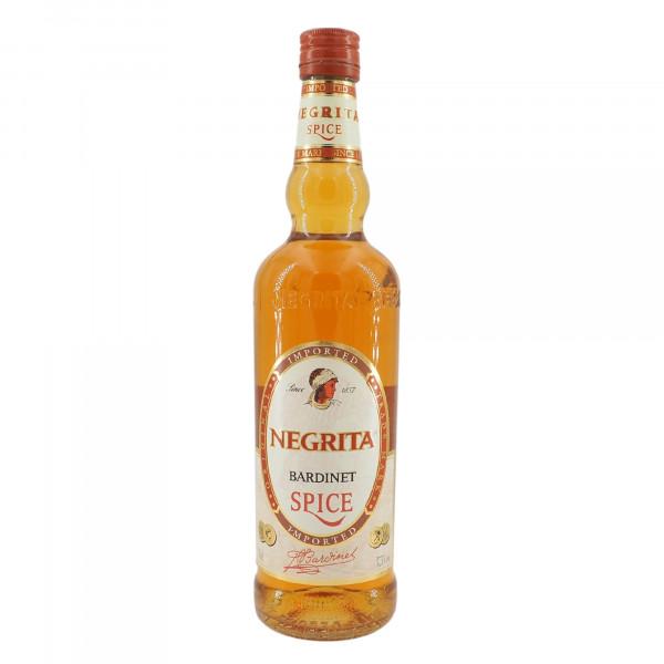 Rhum Negrita Bardinet Spiced old bottling