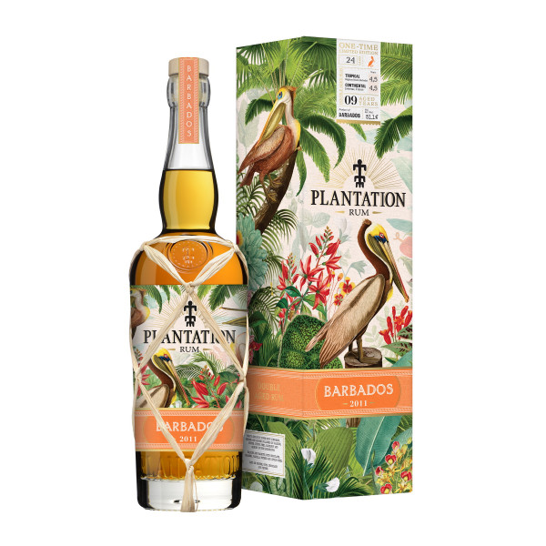 Plantation Rum Barbados 2011 One Time Limited Edition