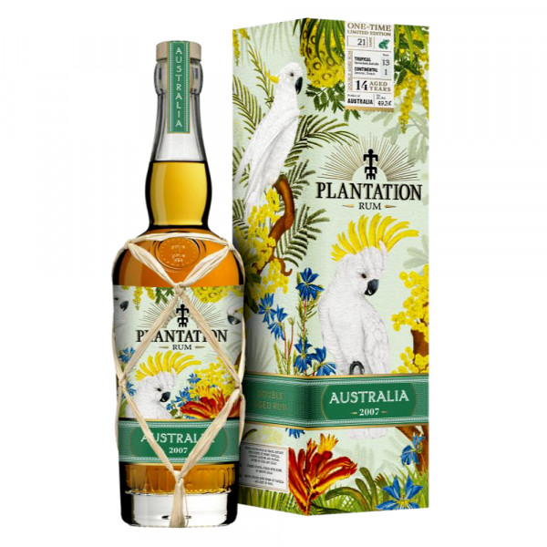 Plantation Rum Australia 2007 One Time Limited Edition