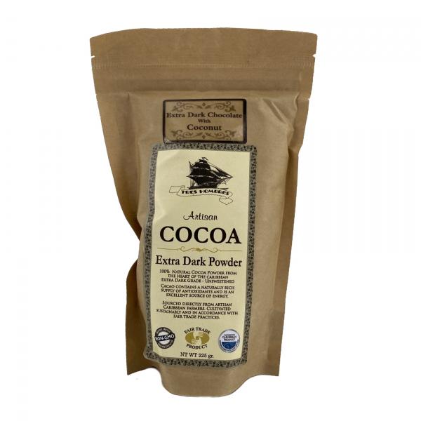 Tres Hombres - Cocoa Artesanal Extra Dark Chocolate with Coconut