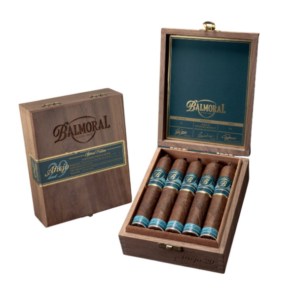 Balmoral Anejo 29 Rothschild Masivo Flagtail (FT), 10er Box