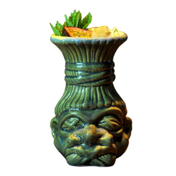 Tiki Mug Shrunken Head