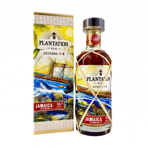 Plantation Rum Extreme No. 4 Jamaica ITP 2000-2020 20 Years old