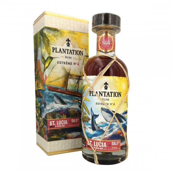 Plantation Rum Extreme No.4 St. Lucia 2007-2020 13 Years old