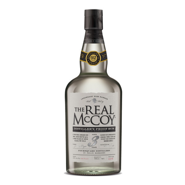 The Real McCoy - 3 Years 46% American Oak Bourbon Barrels