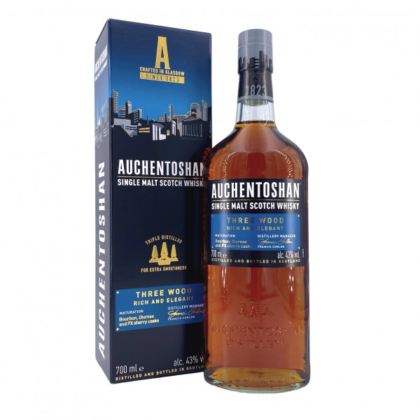 Auchentoshan Three Wood Lowland Single Malt