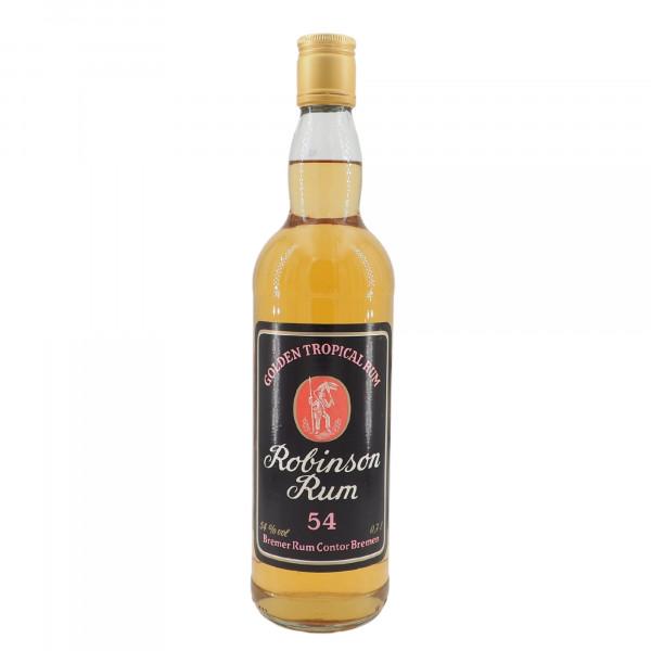 Robinson Rum 54 Bremer Rum Contor Golden Tropical Rum (alte Version)
