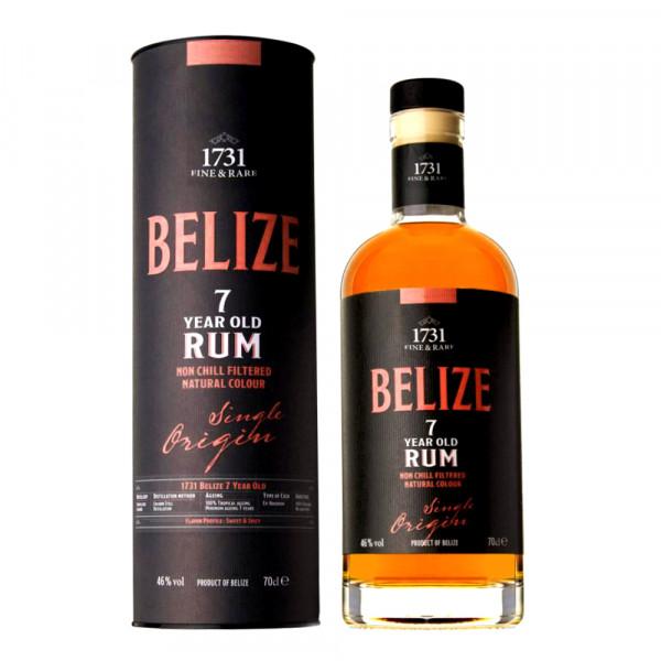 1731 Fine & Rare Belize 7 Years