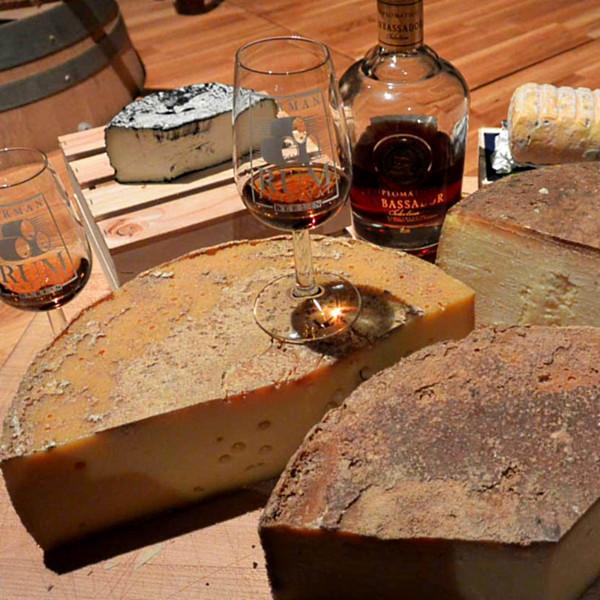 Online Tasting Rum & Käse 16.04.2021