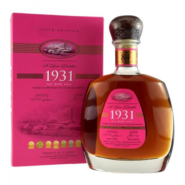Chairmans Reserve St. Lucia Distillers Cuvée 1931 Edition 5